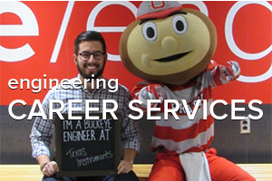 image of Brutus and ohio state engineering student career services