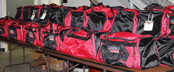 Photo Of Lincoln Electric Welding Bags