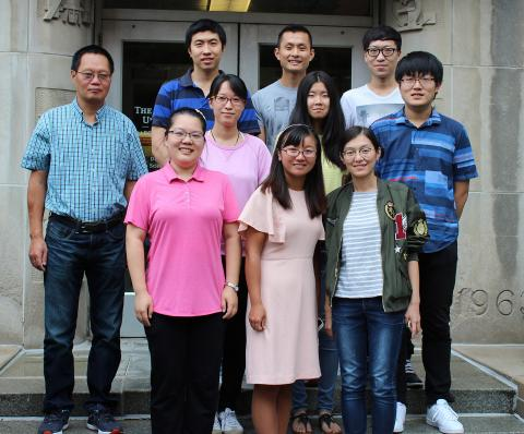 Jianjun Guan's lab group