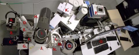 photo of Thermo Scientific Quattro ESEM at Ohio State's CEMAS
